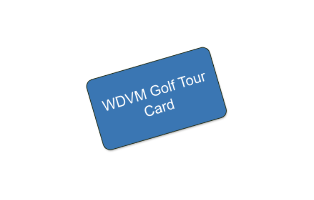2018 WDVM Golf Tour Card